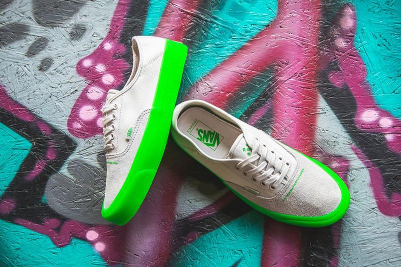 RETROSUPERFUTURE x Vans OG Style 43 XL White Neon Green