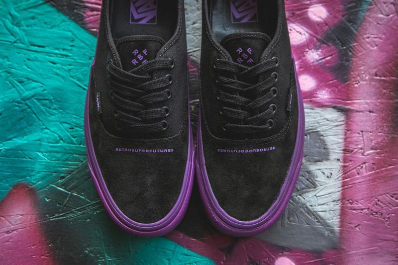 RETROSUPERFUTURE x Vans OG Style 43 XL Black Dark Purple