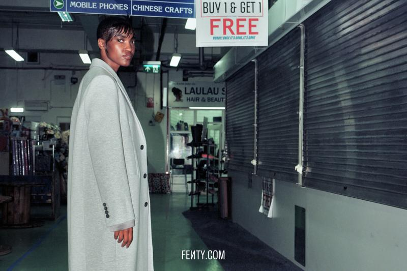 FENTY Release 8-19 Campaign Blazer Grey