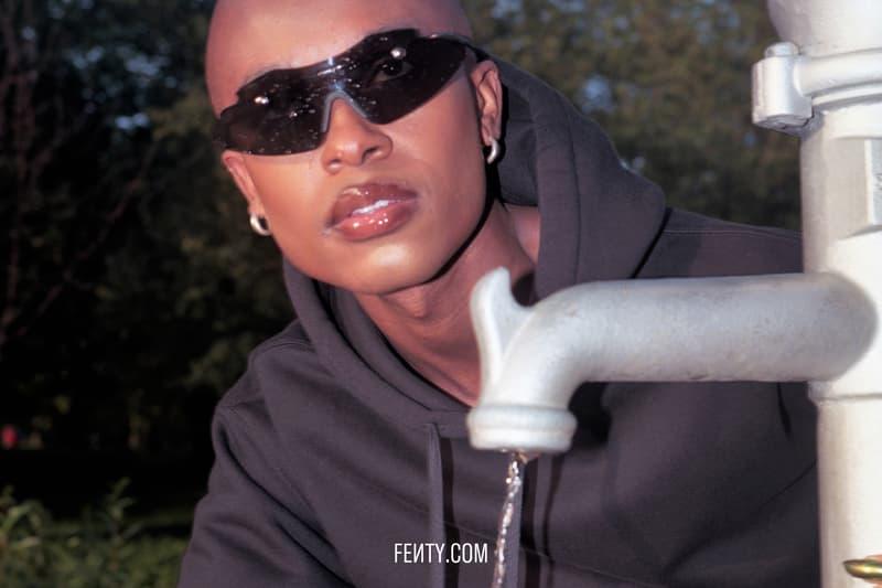 FENTY Release 8-19 Campaign Hoodie Black