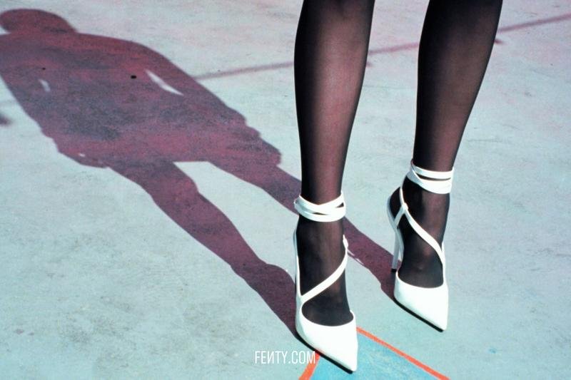 FENTY Release 8-19 Campaign Heels White