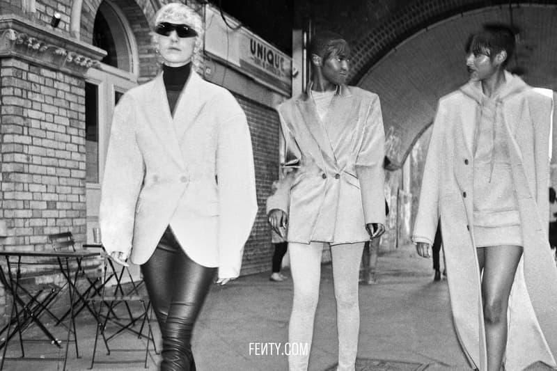 FENTY Release 8-19 Campaign Blazers Jacket Grey