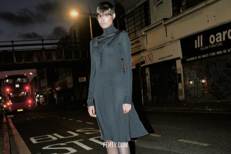 FENTY Release 8-19 Campaign Dress Black