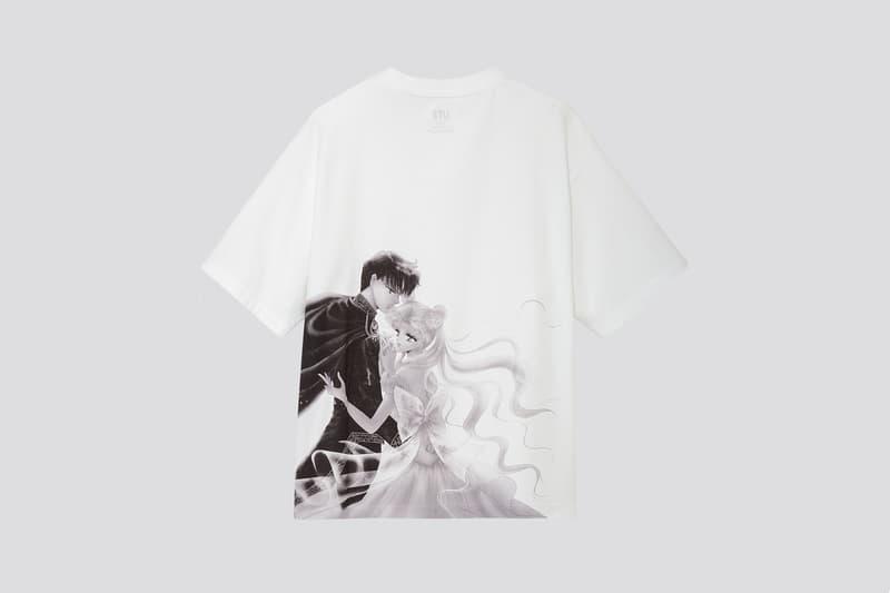 Sailor Moon x Uniqlo UT Collection T Shirt White