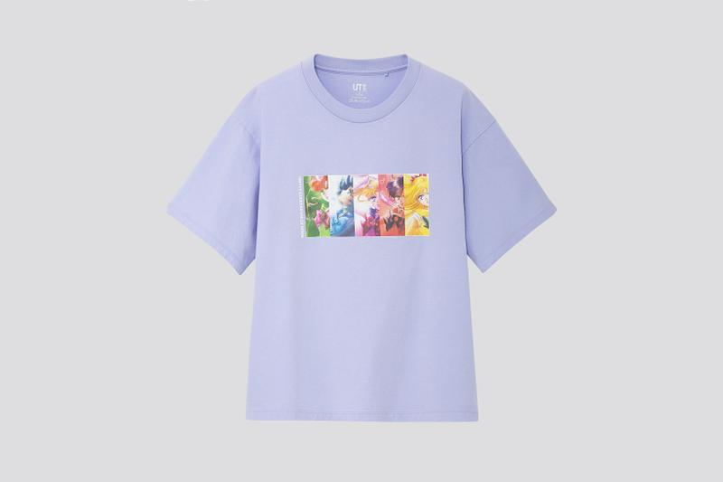 Sailor Moon x Uniqlo UT Collection T Shirt Purple