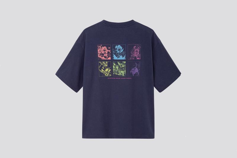 Sailor Moon x Uniqlo UT Collection T Shirt Navy