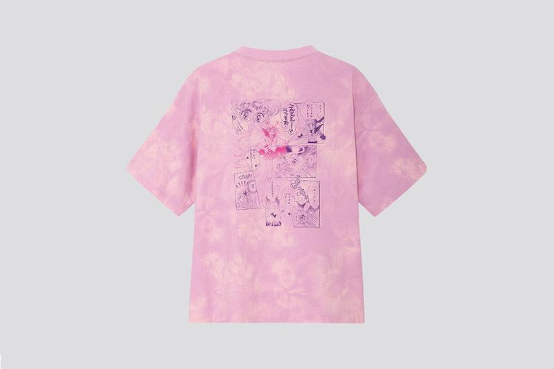 Sailor Moon x Uniqlo UT Collection T Shirt Pink