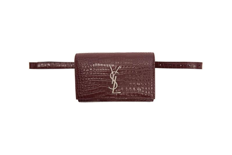 saint laurent ysl Kate Belt Bag burgundy leather goods anthony vaccarello