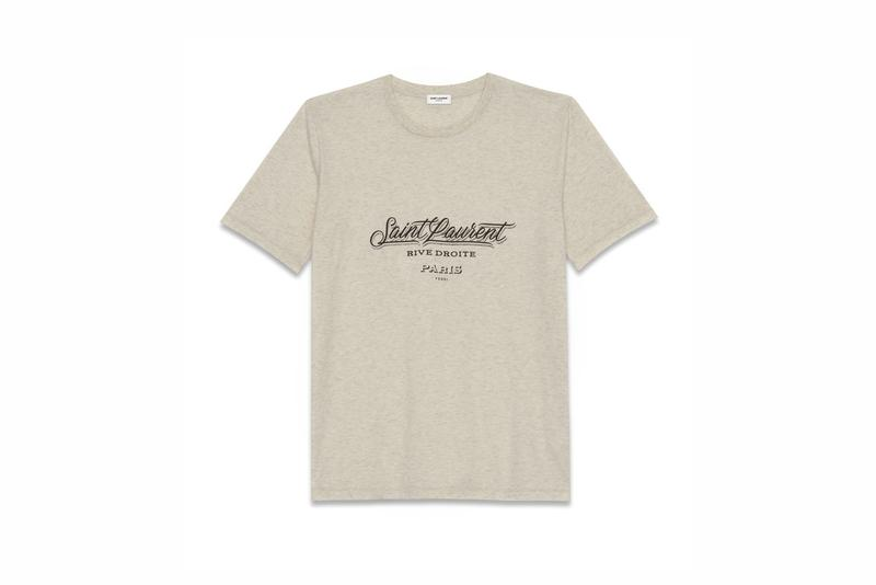 Saint Laurent Rive Droite 007 Capsule Tee Lighter