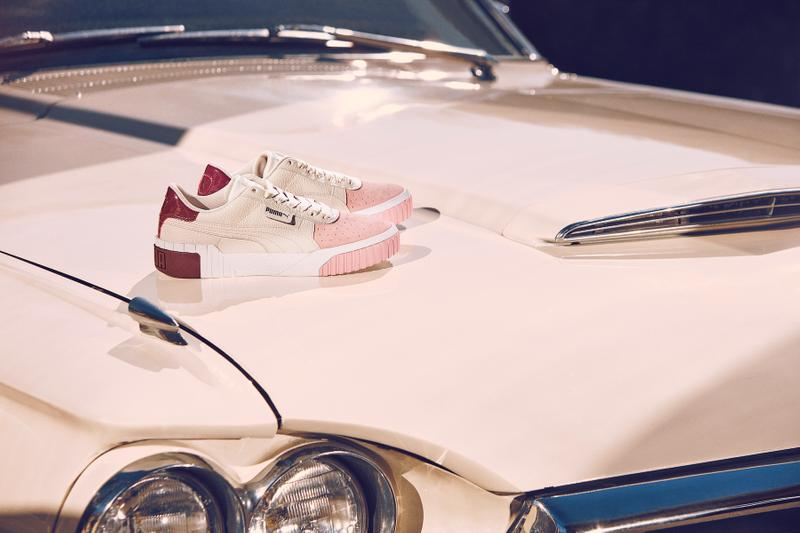 Selena Gomez PUMA Cali Remix Sneaker Campaign Footwear Shoe Summer Color Colorway Trainer Lookbook Ad