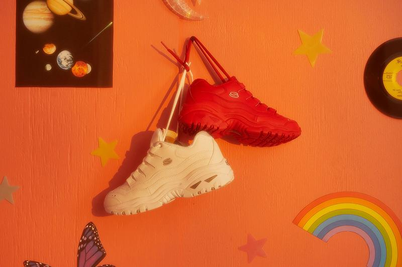 Skechers Energy White Red Spring Summer 2019 Lookbook