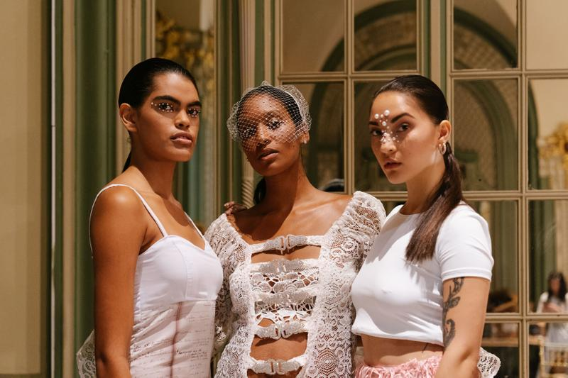 Slashed By Tia Spring Summer 2020 Presentation Tops White
