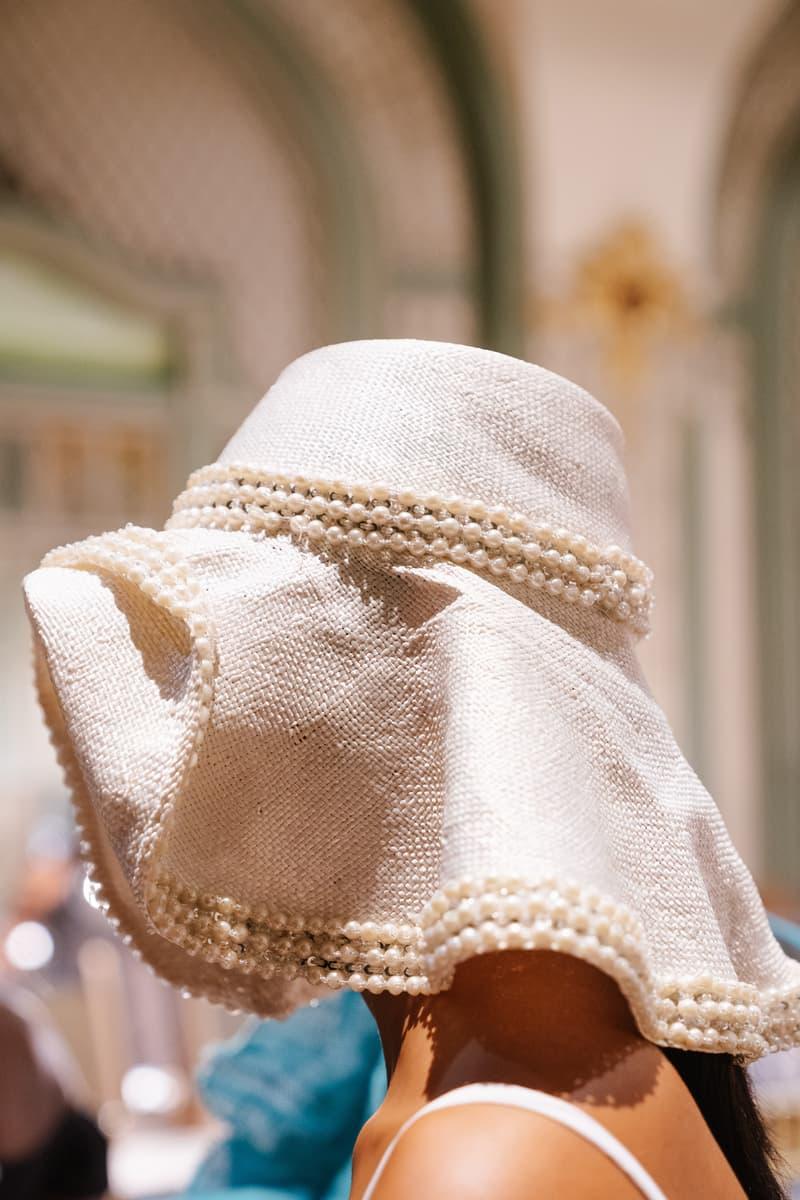 Slashed By Tia Spring Summer 2020 Presentation Hat White