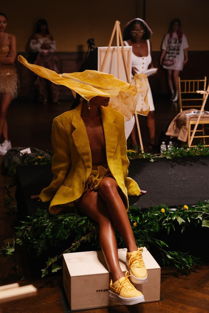 Slashed By Tia Spring Summer 2020 Presentation Blazer Skirt Yellow