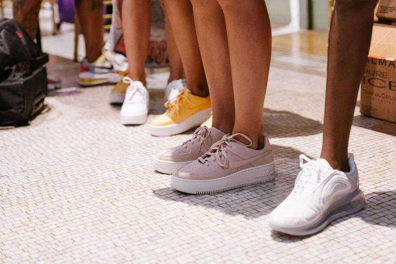 Slashed By Tia Spring Summer 2020 Presentation Air Force 1 Max 720 White Yellow