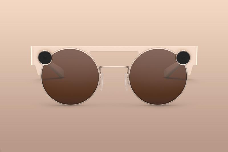 Snap Spectacles 3 Sunglasses Mineral Gold