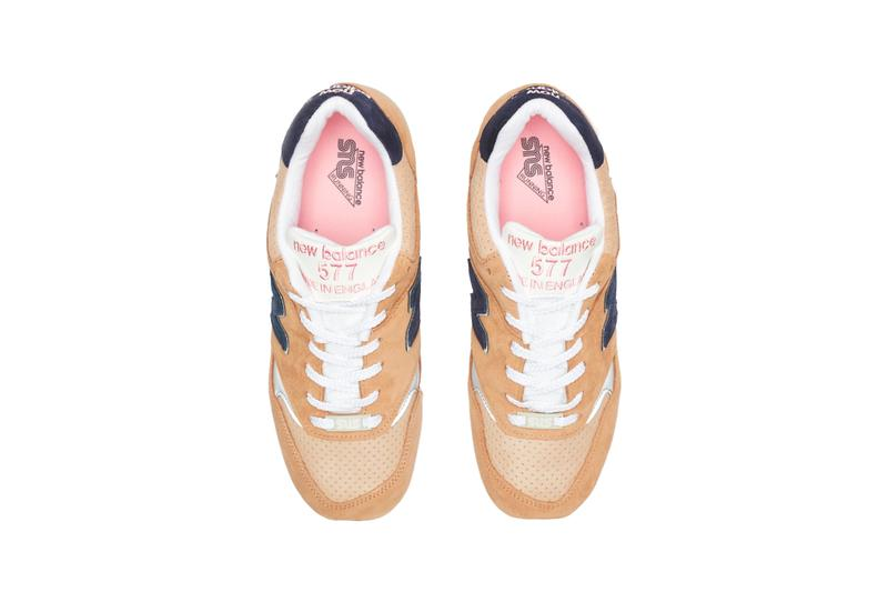sneakersnstuff new balance 557sks sneaker collaboration grown up