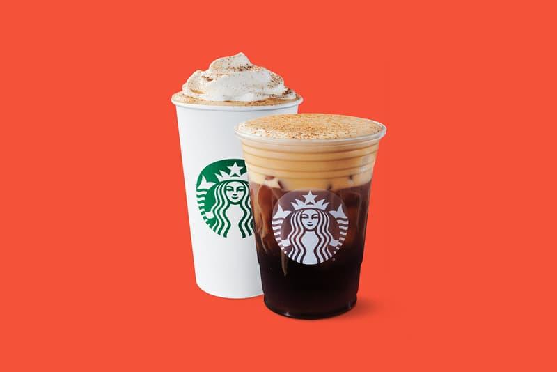 starbucks pumpkin cream cold brew psl spice latte coffee fall drinks beverage