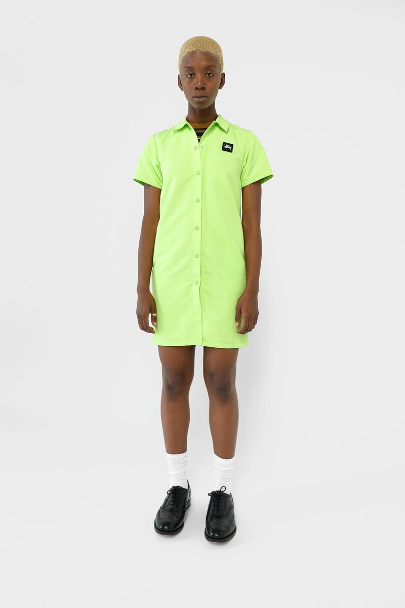 Stussy Womens Fall Winter 2019 Collection Lookbook Dress Green