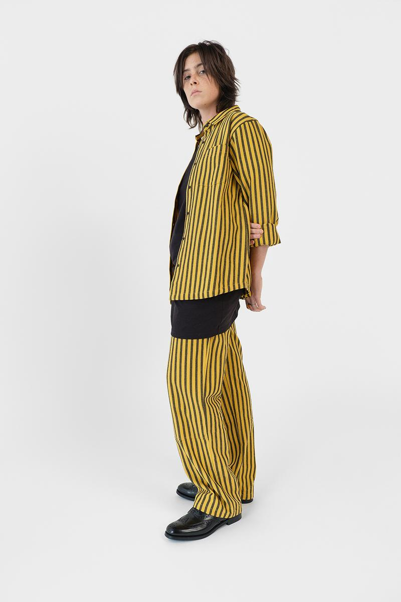 Stussy Womens Fall Winter 2019 Collection Lookbook Jacket Pants Yellow Black