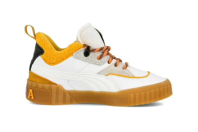 Sue Tsai x PUMA Cali Bright White Yellow