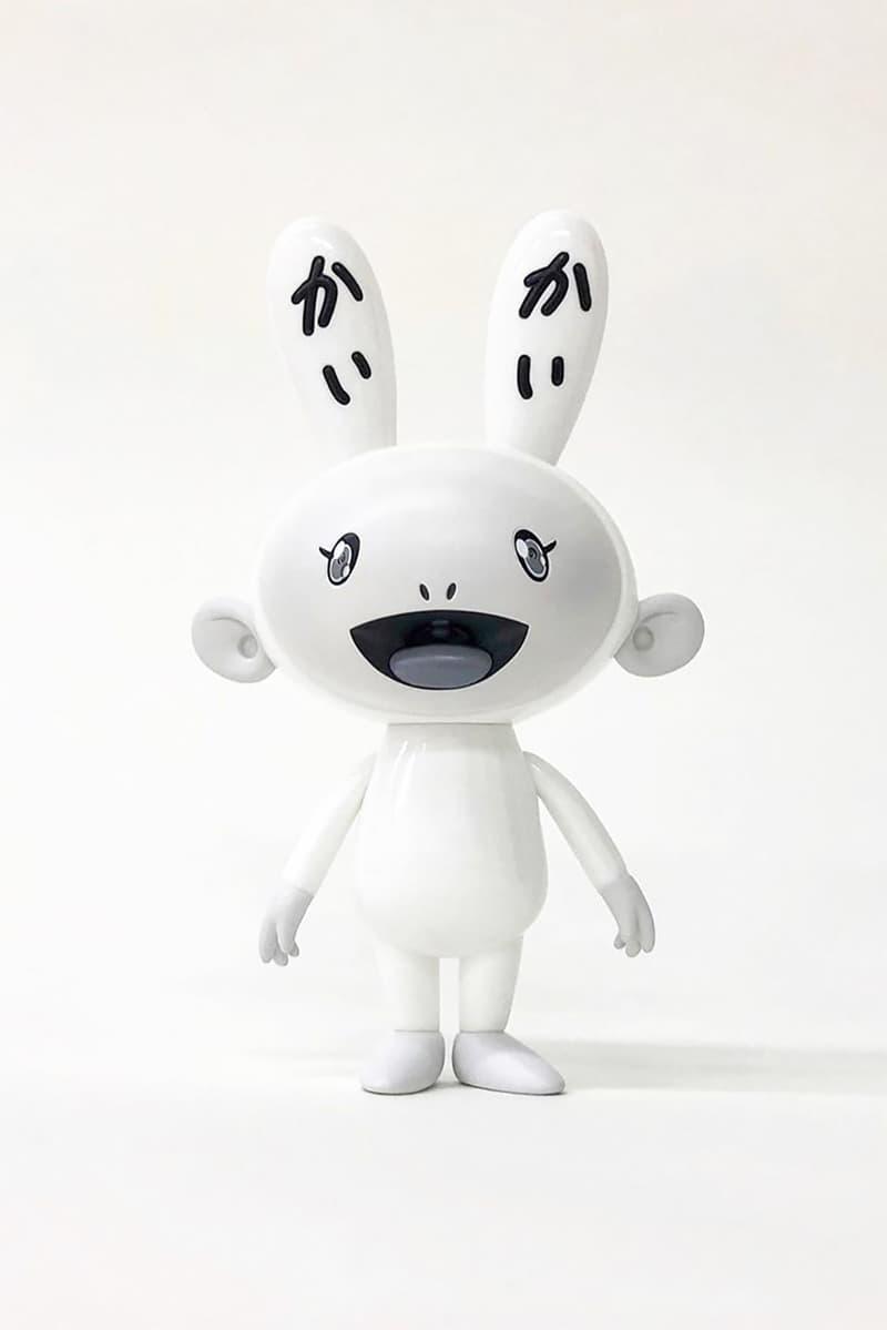 takashi murakami kaikai kiki figures black white vinyl figures art release tokyo japan artist