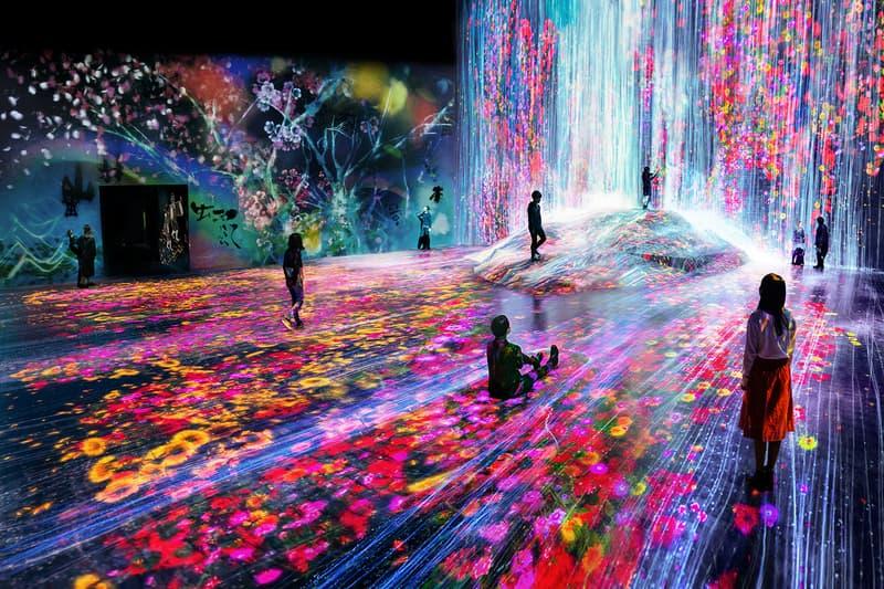 teamlab borderless planets digital art museum tokyo japan