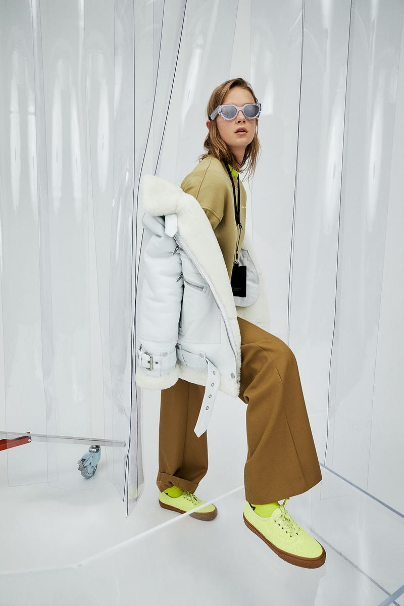 the arrivals oasis collection jacket outerwear coat sunglasses neon shoes