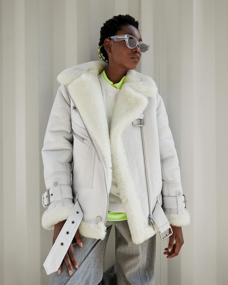the arrivals oasis collection jacket outerwear coat sunglasses
