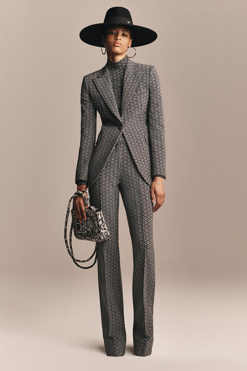 TommyXZendaya Fall Winter 2019 Collection Lookbook Suit Grey