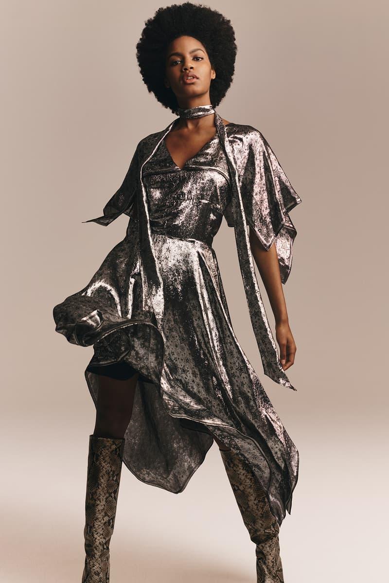 TommyXZendaya Fall Winter 2019 Collection Lookbook Ebonee Davis Dress Silver