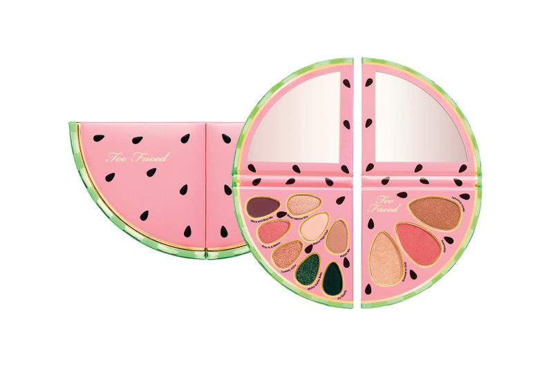 too faced tutti frutti watermelon collection better than sex mascara eyeshadows lip gloss setting spray makeup beauty