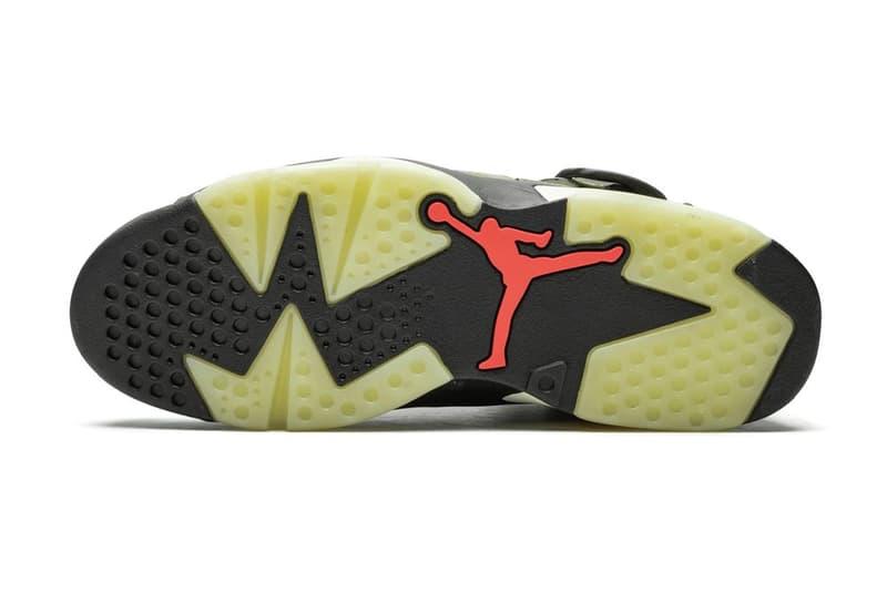 Travis Scott x Air Jordan 6 Cactus Jack Green Orange