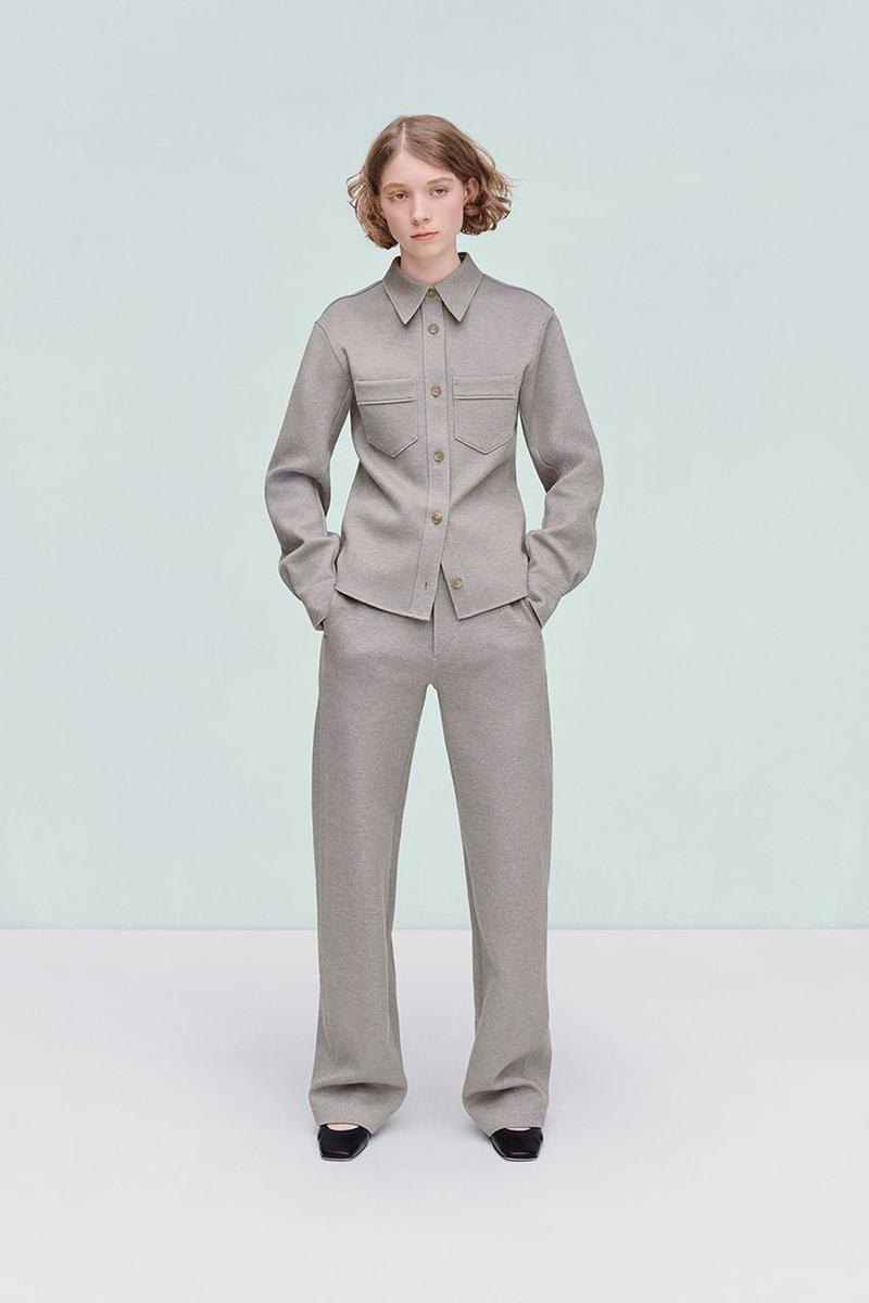 Uniqlo U Fall Winter 2019 Lookbook Jacket Pants Grey