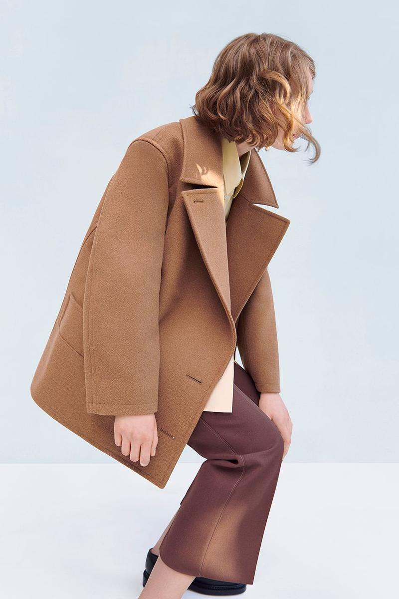 Uniqlo U Fall Winter 2019 Lookbook Jacket Brown