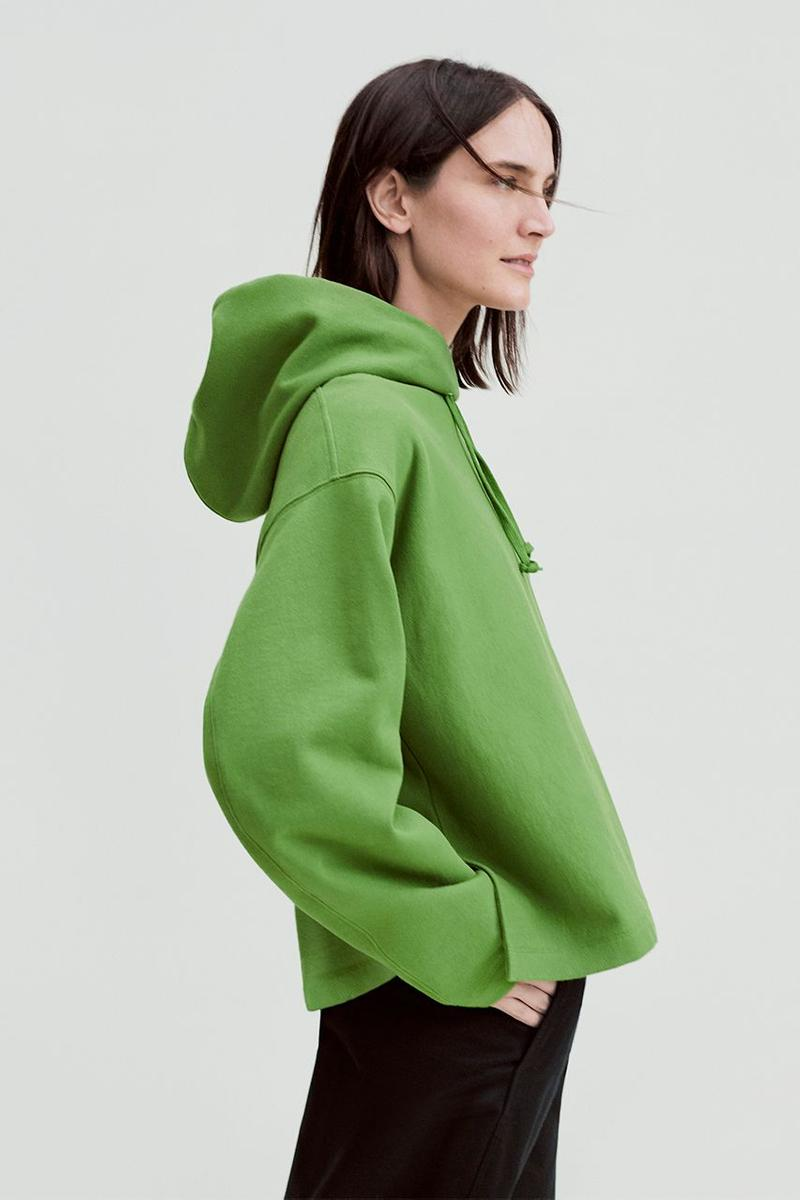 Uniqlo U Fall Winter 2019 Lookbook Hoodie Green Pants Black