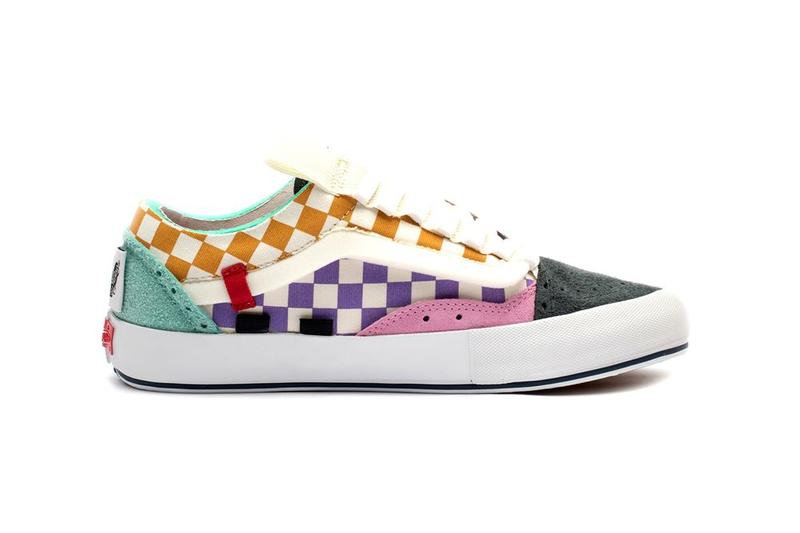 Vans Vault Old Skool Cap LX Regrind Collection Multicolor