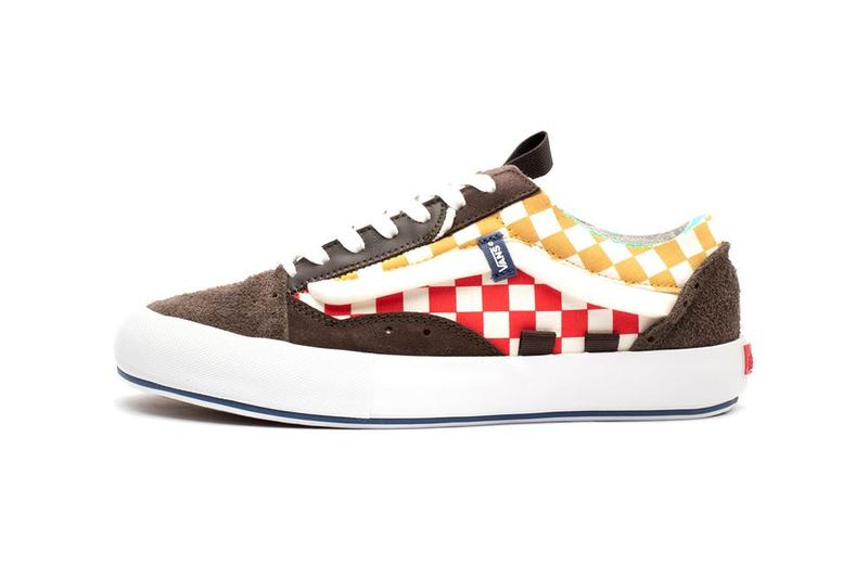 Vans Vault Old Skool Cap LX Regrind Collection Brown