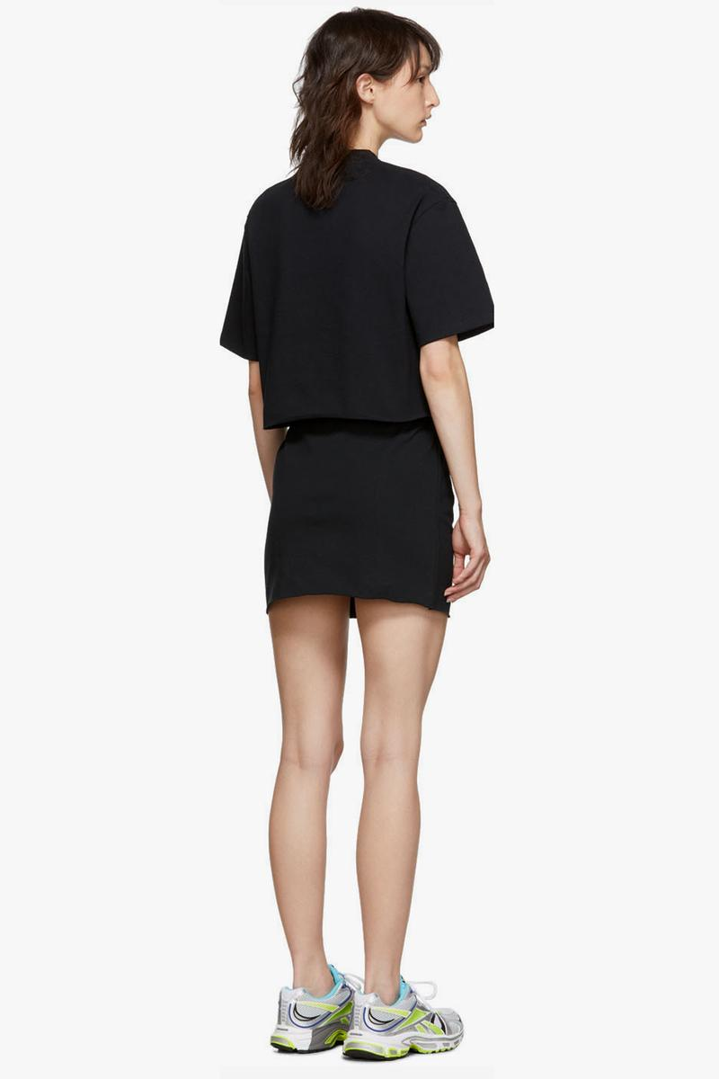 Vetements Happy Birthday T Shirt Dress Pack Black