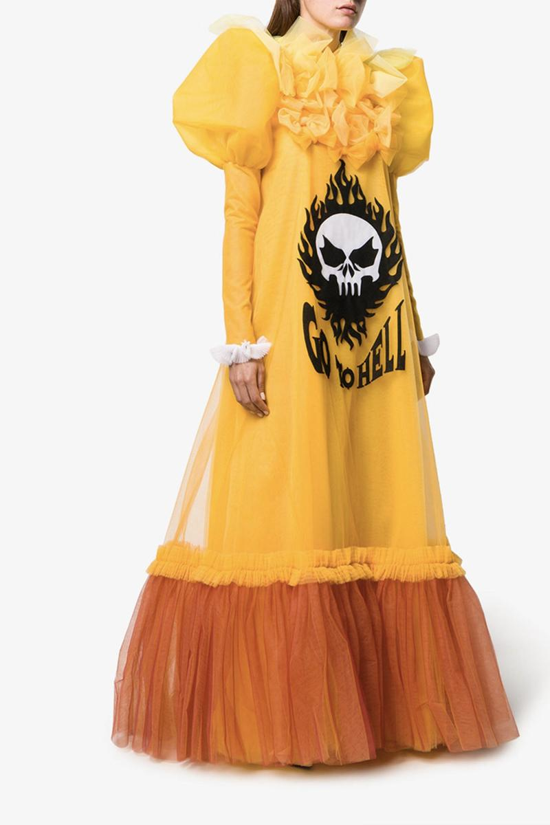 Viktor & Rolf Couture Gown Where to Buy Dress Tulle Logo Whatever $65,000 USD Price Tag Haute Couture Piece