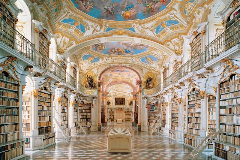 most beautiful libraries in the world books travel america europe asia johns hopkins university oxford admont abbey austria