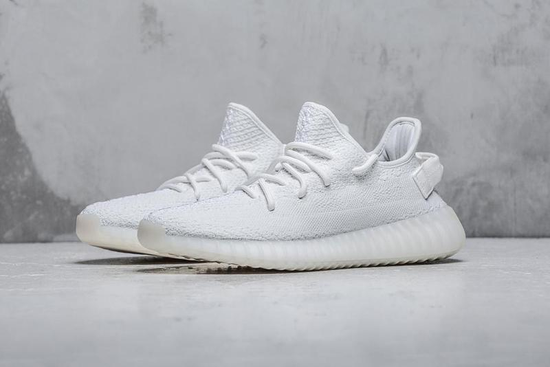 purchase cheap d0378 54c28 adidas YEEZY BOOST 350 V2 Triple White Restock | HYPEBAE