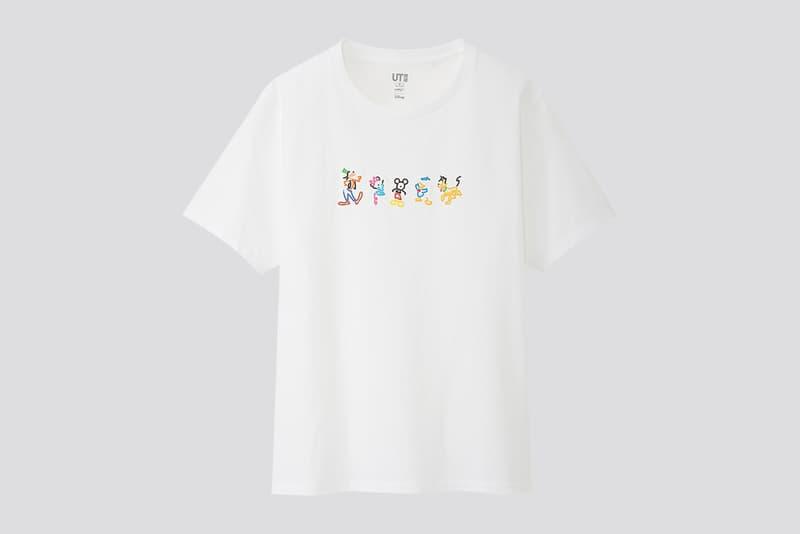 uniqlo ut yoon hyup disney mickey minnie mouse sweatshirts hoodies