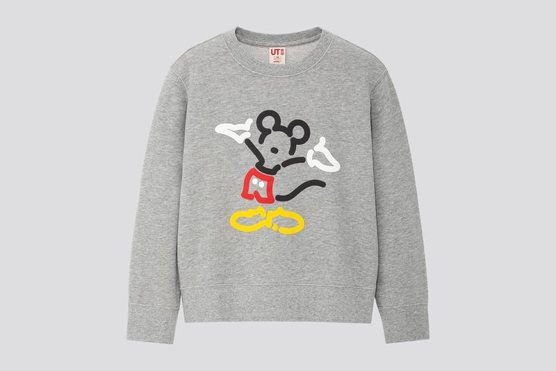 uniqlo ut yoon hyup disney mickey minnie mouse sweatshirts hoodies
