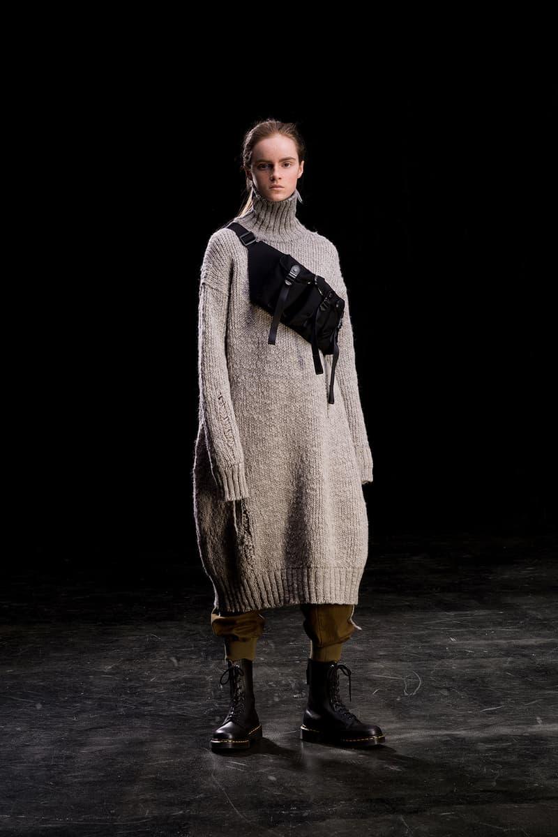 yohji yamamoto y's ys fall winter 2019 lookbook bum bag fanny pack