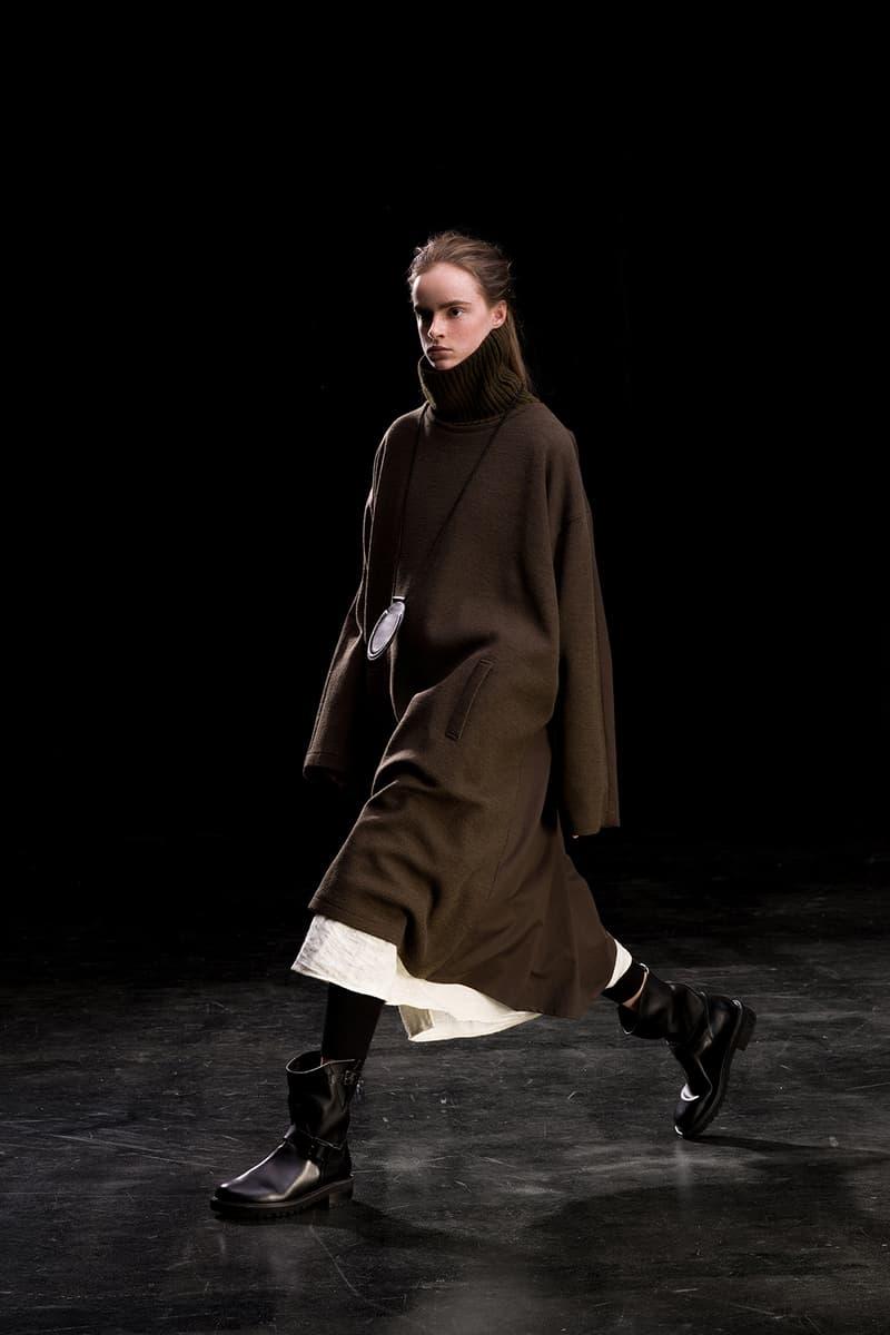 yohji yamamoto y's ys fall winter 2019 lookbook coat