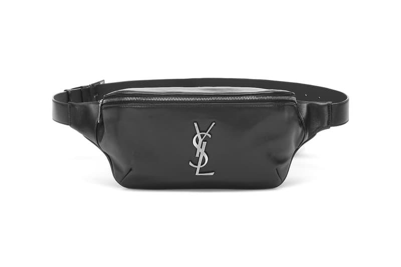 51136c70 Saint Laurent Monogram Black Leather Fanny Pack | HYPEBAE
