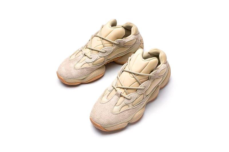 adidas kanye west yeezy 500 stone sneakers beige pink release date footwear shoes sneakerhead