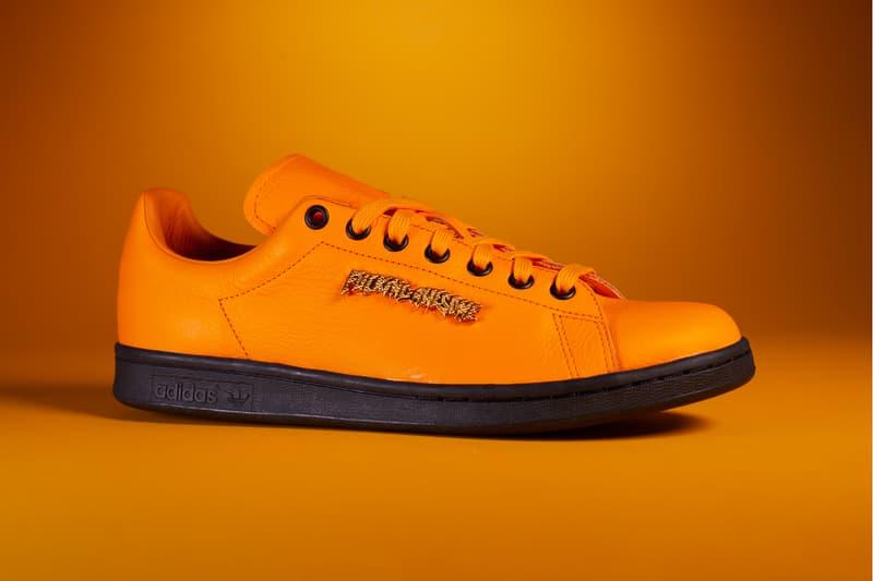 adidas originals fucking awesome stan smith sneakers orange purple black release date footwear sneakerhead shoes tokyo paris los angeles
