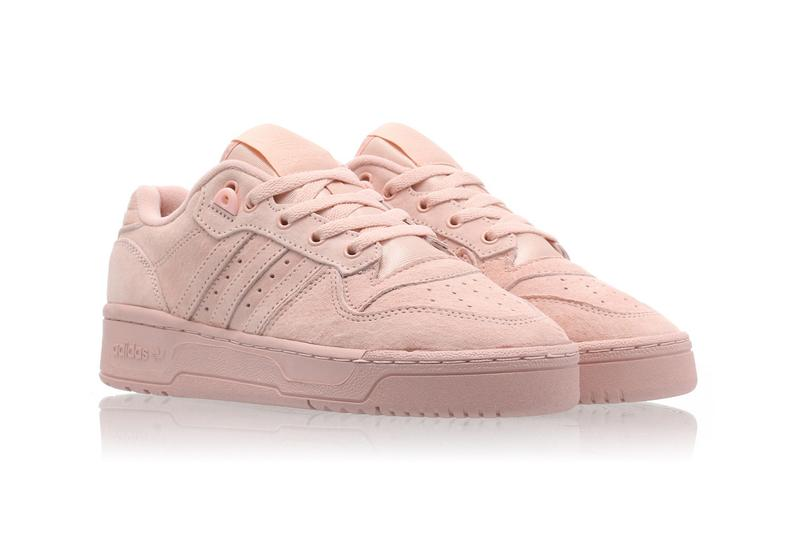 adidas Originals Rivalry Low Coral Vapour Pink Sneakers Trainers Women's